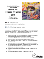 YOUTH ART POSTER CONTEST 2015