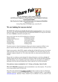2015 Share Fair Poster Session