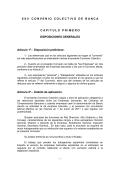XXII Convenio Colectivo Banca - Asociación Española de Banca