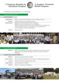 Programa CMGT_2015 - Congreso Mundial de Ganadería Tropical