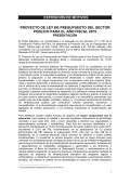Exposición de motivos - Ministerio de Economía y Finanzas