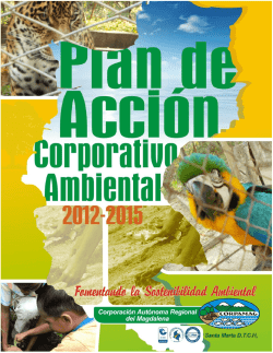 Documento Plan de Accion Corporativo Ambiental - PACA 2012-2015