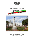 """Plan de Desarrollo 2012 - 2015 """"Ocaña Confiable y Participativa"""""""