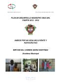 plan de desarrollo municipio vigia del fuerte 2012