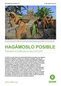 Hagamoslo Posible : Propuestas de Oxfam para el marco post-2015
