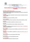 proceso admisión de nuevos alumnos para el curso 2014-2015