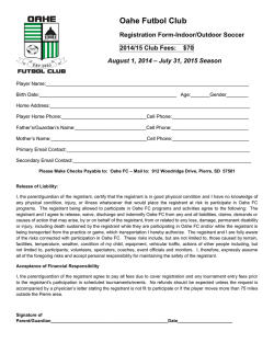 OFC 2014-2015 Registration Form (PDF)