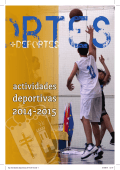 Programa de actividades deportivas 2014-2015