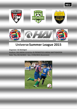 UniverseSummer League 2015