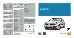 CATALOGO CLIO CAMPUS 2015