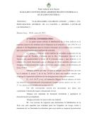 Resolución del juez Enrique Lavié Pico en causa por designaciones