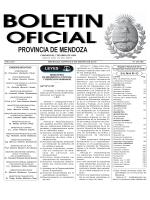 leyes - Gobierno de Mendoza