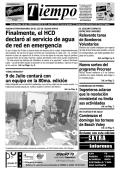 Finalmente, el HCD declaró al servicio de agua de red en emergencia