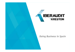 Doing Business in Spain - IBERAUDIT Kreston