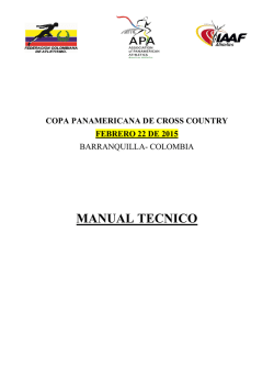 COL - APA Panamerican Cross Country 22Feb2015 Manual