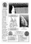 January 11, 2015 The Baptism of the Lord 11 de enero de 2015 El