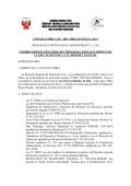 convocatoria cas – 2015 –dre-c/d-ugel-c/aga proceso - UGEL Calca