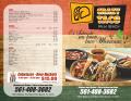 crazy taco menu