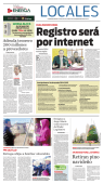 Retiran pino navideño - El Diario de Coahuila