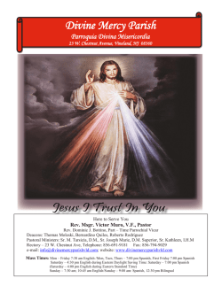 Divine Mercy Parish - John Patrick Publishing Company