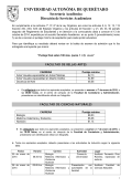 universidad autonóma de querétaro - Dirección de Servicios