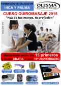 CURSO QUIROMASAJE 2015 - Escuela de Masaje Olesma