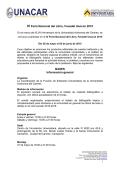 IV Feria Nacional del Libro, Fenadel UNACAR 2015 - Universidad