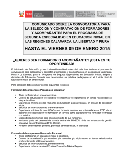 DOCUMENTO DE INVITACIÓN - Universidad Nacional de Cajamarca