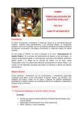 ESPECIALIZACIÓN EN GESTIÓN PÚBLICA - Universidad Nacional