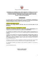 1 COMUNICADO JUEVES 8 DE ENERO DE 2015 Auditorio del