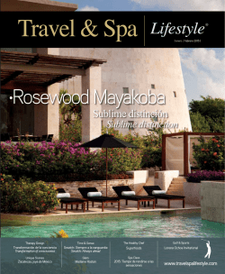 Rosewood Mayakoba - Travel & Spa | Lifestyle