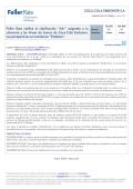 """""""AA-"""" asignada a la solvencia y las líneas de bonos - Feller Rate"""
