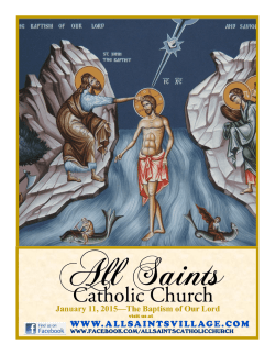 Catholic Church - E-churchbulletins.com