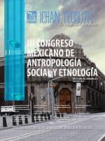 3 III Congreso Mexicano de Antropología Social y - Mundo CIESAS