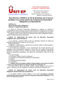 Real Decreto 1105/2014, de 26 de diciembre, por el que se