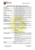 LISTA DE ÚTILES - SEGUNDO GRADO 2015 - Colegio Cristo Rey