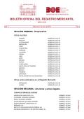 Sumario del BORME núm 3 de Miércoles 7 de enero de - BOE.es