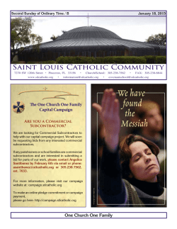 Saint Louis Catholic Community