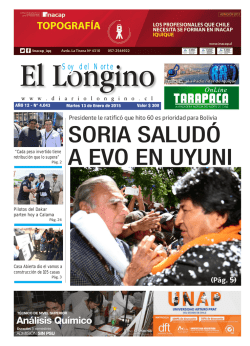 Soy del Norte - DiarioLongino.cl