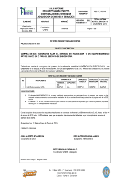 3.10.1 INFORME REQUISITOS HABILITANTES CONTRATACION