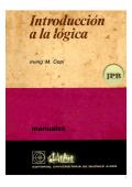 Introducción a la lógica | Irving Copi
