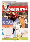 programa oficial - Club Atlético Osasuna