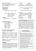 Parish Weekly Bulletin