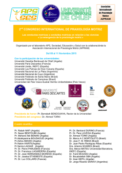 2 congreso international de praxiología motriz