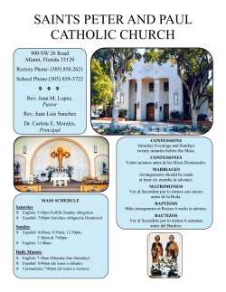 saints peter and paul catholic church - E