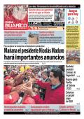 Mañana el presidente Nicolás Maduro hará importantes anuncios