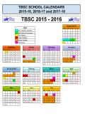 TBSC 2015 - 2016 - The British School Caracas