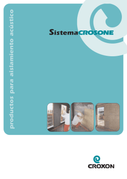 Catalogo Sistema Crosone