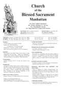 Church Blessed Sacrament - The Church of the Blessed Sacrament
