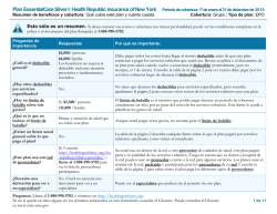Plan EssentialCare Silver I: Health Republic Insurance of New York